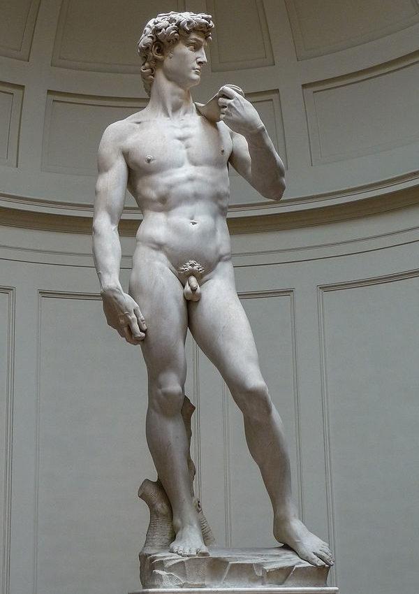 David by Michelangelo - a masterpiece of Renaissance