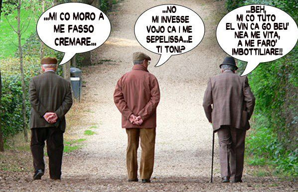 chiacchieri tra italiani