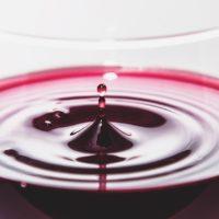 cálice vino rosso