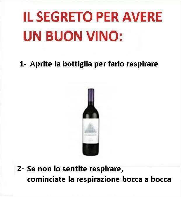 segreti per avere un buon vino